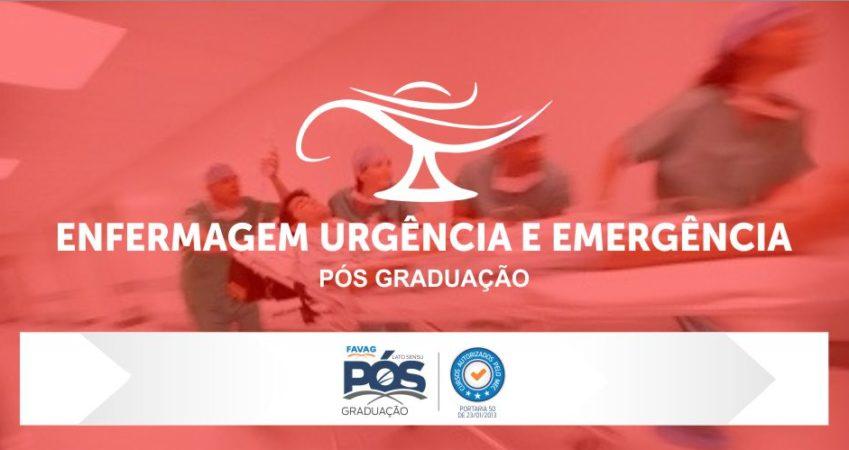 Enfermagem Urgência e Emergência