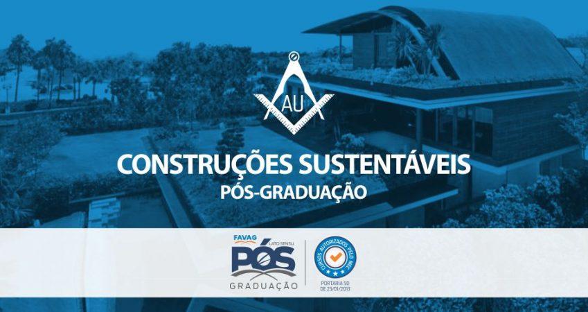 CONSTRUÇÕES INTELIGENTES E SUSTENTÁVEIS