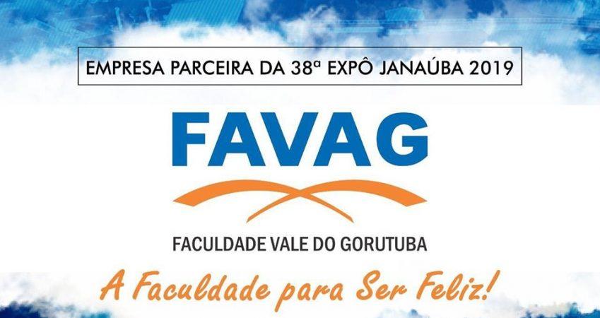 PARCERIA FAVAG E 38ª EXPÔ JANAÚBA 2019